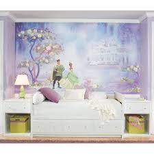 disney princess frog giant wall paper accent mural obedding com disney princess and the frog wall murals chair rail