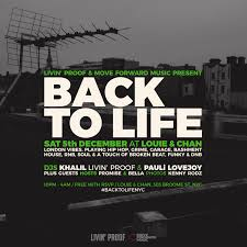 garage house music events u2014 back to life nyc events photos music u0026 video