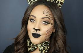 leopard halloween costume halloween makeup tutorial leopard cheetah hair u0026 youtube
