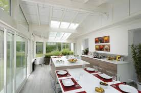 cuisine sous veranda veranda cuisine photo affordable duune vranda xs une cuisine xl
