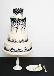black and white wedding cakes modern black and white wedding cakes stunning and