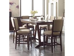 Seven Piece Dining Room Set Kincaid Furniture Elise Seven Piece Counter Height Dining Set With
