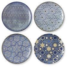hanukkah plates hanukkah salad plates mixed set of 4 hannukah decorations cah