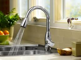 Sensor Faucets Kitchen by Faucet Moen Chrome Kitchen Faucet Single Lever Kitchen Faucet