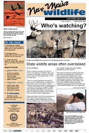New Mexico wildlife tours images New mexico wildlife magazine pdf editions jpg
