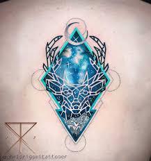 tattoo deer geometric tattoo for all animals wild