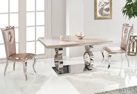 White Marble Dining Table Dining Room Furniture Other High Quality Dining Room Sets Lovely On Other Intended For