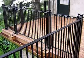 Decking Banister Outdoor U0026 Garden Inexpensive Square Wire Deck Railing Ideas For