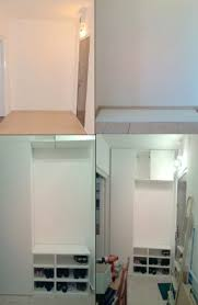 Ikea Kitchen Cabinet Hacks Hallway Storage From Ikea Metod Kitchen Cabinets Ikea Hackers
