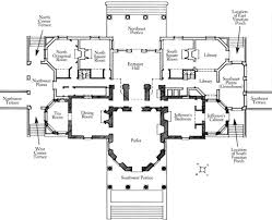 monticello ground floor plan the shaded areas indicate the