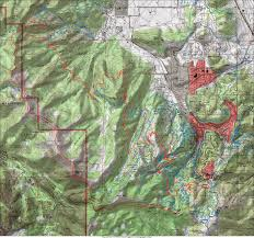 Park City Utah Map by Wasatch Crest From Deer Valley