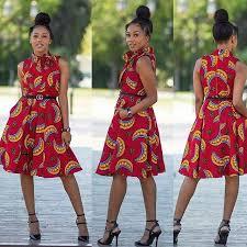 ankara dresses keep your weekend simple in ankara dresses