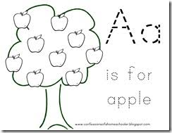 letter apple confessions homeschooler