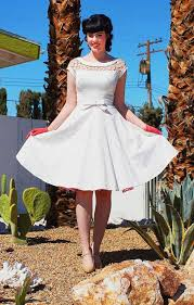 robe de mari e rockabilly robe mariée vintage ées 50 fashion designs