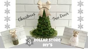 3 dollar store diy christmas tree decorations holiday beauty on a