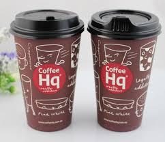 bicchieri di carta personalizzati 80 millimetri 90 millimetri caff礙 nero becco paper cup coperchi