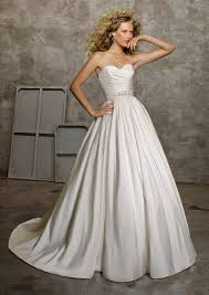wedding dress ivory luxe taffeta wedding dress in white or ivory style 4524 morilee
