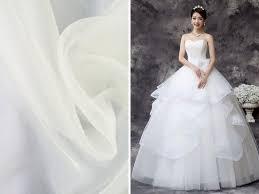 list of the trendiest wedding dress material and fabrics gurmanizer