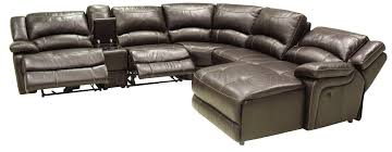 leather sectional sofa with recliner mahogany full leather 6pc modern reclining sectional sofa