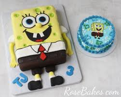 spongebob cake ideas behance
