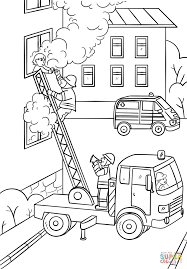 girls truck colouring pages
