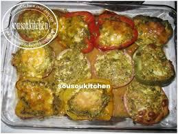 recette de cuisine orientale poivrons farcis فلافل محشية sousoukitchen