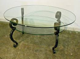 glass top cocktail table furniture interesting small oval coffee table for awesome living