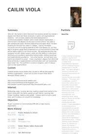 public relations intern resume samples visualcv resume samples