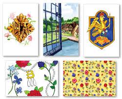 boleyn inspired greeting cards