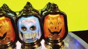 musical halloween lantern lights pumpkins and skulls youtube