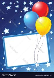 party balloons party balloons background royalty free vector image