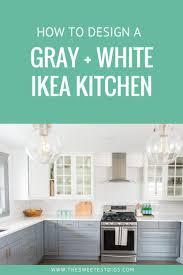 White Ikea Kitchen Cabinets Best 25 White Ikea Kitchen Ideas On Pinterest Gray And White