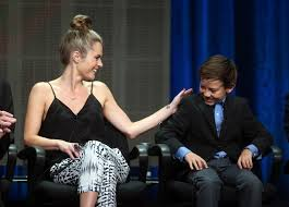 james roday and maggie lawson 2015 maggie lawson and griffin gluck photos photos 2013 summer tca tour