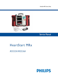 heartstart mrx service manual calibration electronics