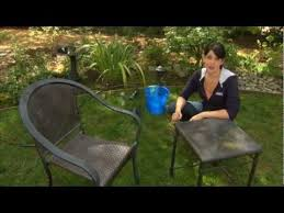 How To Restore Metal Outdoor Furniture by The 25 Best Cleaning Patio Furniture Ideas On Pinterest Deck