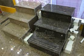 modern grey chinese new marble stair treads steps and raisers