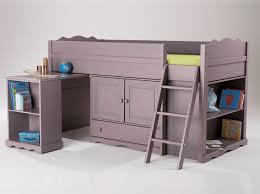 bureau en mezzanine tendance le lit mezzanine décoration