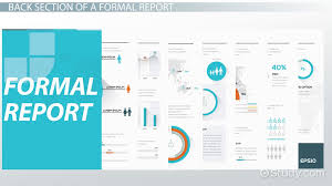 exle of a formal business letter formal report format parts effectiveness video lesson