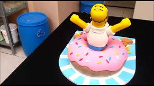 homer simpson cake youtube