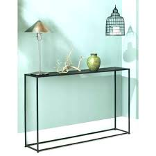 black metal entry table black entry table modern console table with modern entry table with