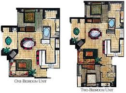 Bedroom Floor Plan Vacation Village At Parkway 2 Bedroom Floor Plan U2013 Home Plans Ideas