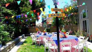 home decor for birthday parties beauty kids outdoor birthday party ideas 68 about remodel diy home