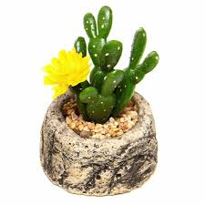 1 pcs small potted bonsai fake plants with pot set flower vase