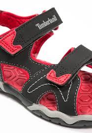 timberland adventure seeker kids sandals black red www