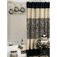 zebra print bathroom ideas curtain walmart shower curtain for your bathroom decor ideas