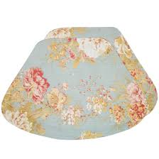 wedge placemats mint green floral print print wedge shaped round