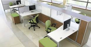 Office Furniture Trends Are More Open And Modern - Open office furniture