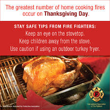 iaff frontline ensure a safe and happy thanksgiving
