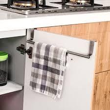 over the door cabinet over door tea towel holder rack bathroom rail cupboard hanger
