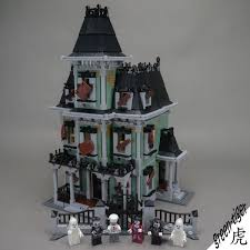 c118 custom builder set 10228 haunted house monster fighters